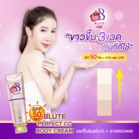 BLÜTE Sun protection & Whitening cream stands up to sweat and sun