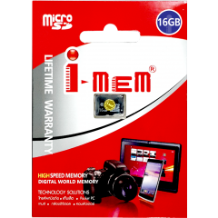 T-FLASH I-MEM 16 GB