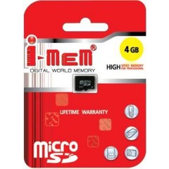 T-FLASH I-MEM 4 GB