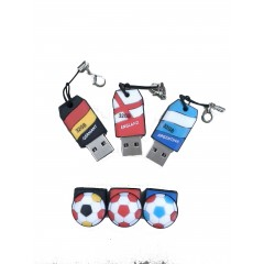 USB FLASH DRIVE FOOTBALL 8GB