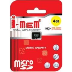 T-FLASH I-MEM 4 GB